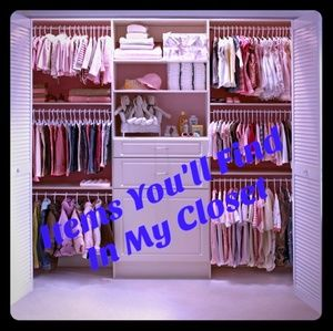 🌺 LIST OF ITEMS AVAILABLE IN MY CLOSET 🌺